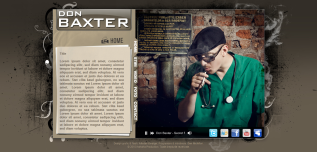 Artist Page –Baxter