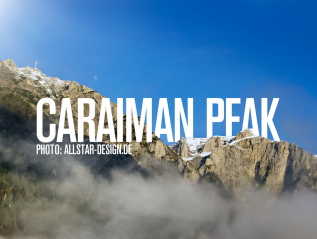 Caraiman Bergspitze