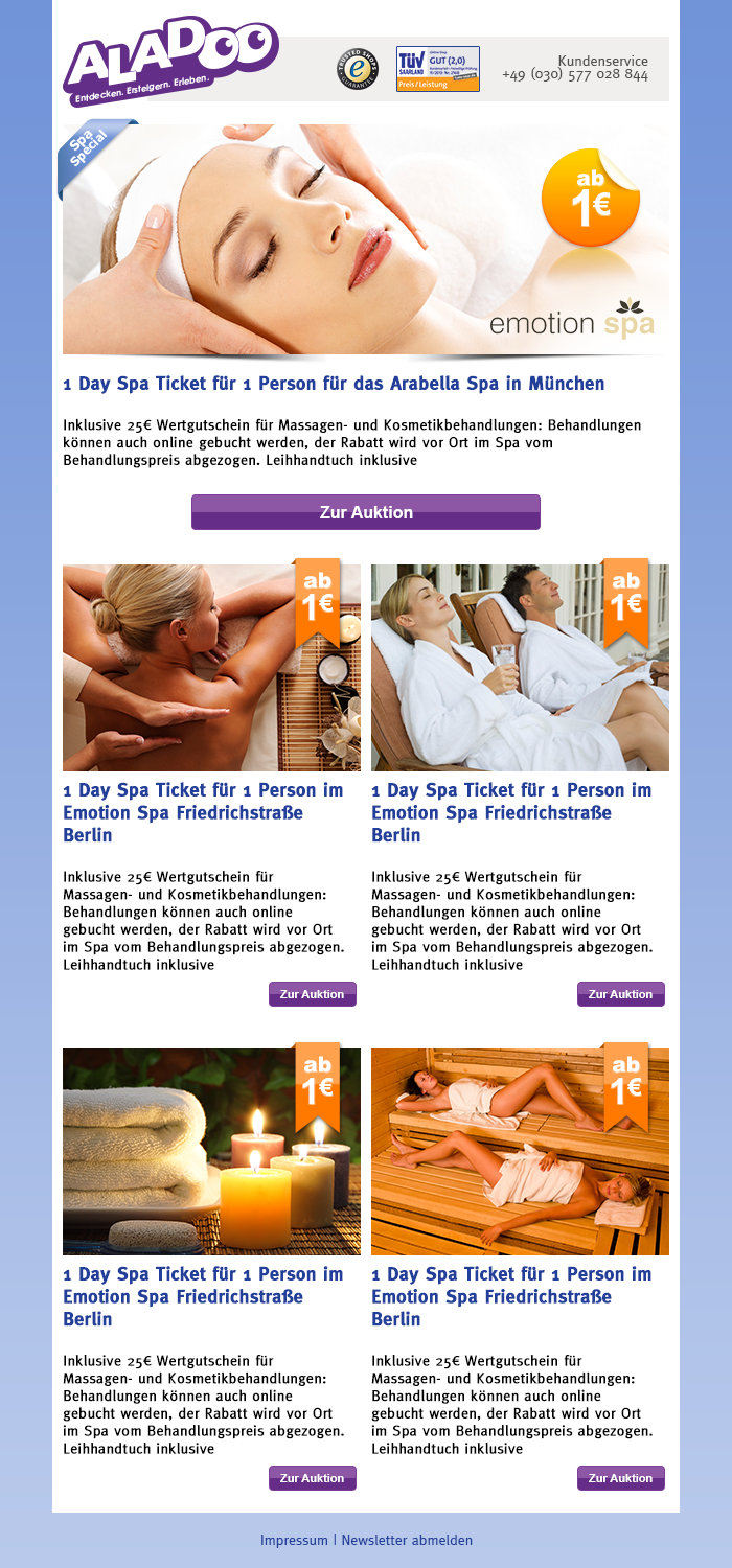 Newsletter_Spa