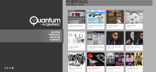 Portfolio Website Quantum Graphix