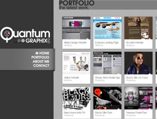 Portfolio Website QuantumGraphix