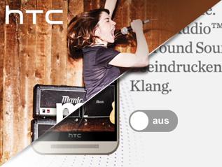 Htc one M9 InteractiveAd