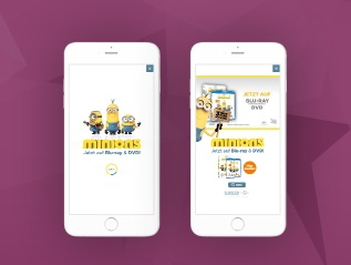 Minions Interactive Video Ad