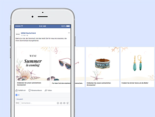 Facebook Carousel Ad Wenz